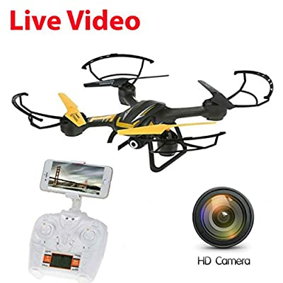New SkyCo Altitude Hold Drone With Camera Live Video Quadcopter 4 Ch 2.4ghz 6-gyro,Headless System Drone Live Camera HD Helicopter WiFi FPV from Skytech