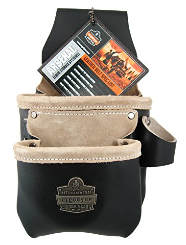 Arsenal Equipment Storage Systems Black Leather 7-pocket Tool and Fastener Pouch Model 5462 image