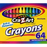 Cra-Z-art Crayons, 64 Count (10202)