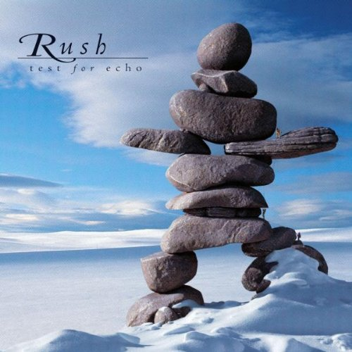 Original album cover of Test for Echo by Rush
