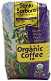 The Organic Coffee Company, Panama Santa Barbara Single Origin Whold Bean Coffee, 12-Ounce Packages (Pack of 2)