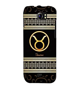 Fuson 3D Printed Sunsign Taurus Designer back case cover for Micromax Canvas 2 A110 - D4271