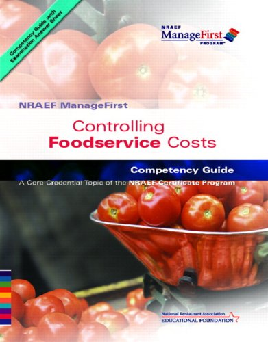 ManageFirst: Controlling Foodservice Costs with...
