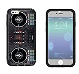 565 Dj Mixer Controller Cool MUSIC DJ Clubing Design iphone 6 plus S 55 Full Body CASE With Build in Screen Protector Rubber Defender Shockproof Heavy Duty Builders Protective Cover