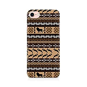 NXT GEN Tribal Lion Premium Printed Mobile Back Case Cover For Apple iPhone 7