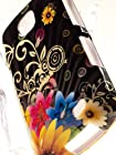 Shockwize (Tm) Imago Series Samsung Galaxy Proclaim S720C & Samsung Illusion i110 Design Art Artwork Skin Shell Protector Case Shock Absorbing Rigid Hybrid (Straight Talk, Verizon) S720C i110 (Design Floral Chromatic Flower)