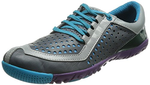 SKORA Women's Core Running Shoe,Charcoal/Cyan/Purple,11 M US