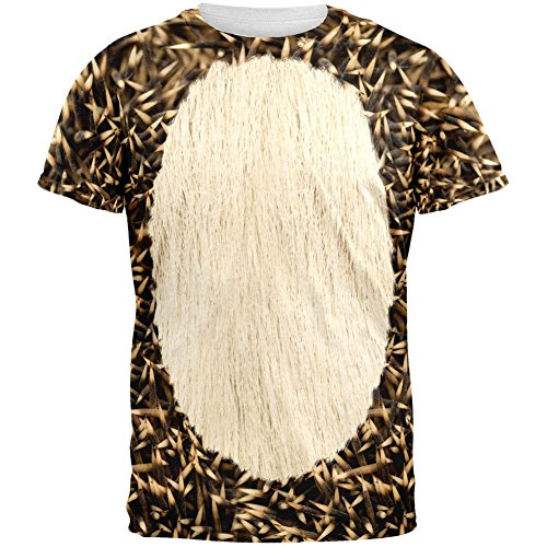 Halloween Hedgehog Costume All Over Adult T-Shirt