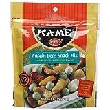 Ka-me Wasabi Peas Snack Mix, 6.0-Ounce Bags (Pack of 12) ~ Ka-Me