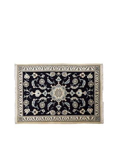 RugSense Alfombra Persian Nain Negro 148 x 100 cm