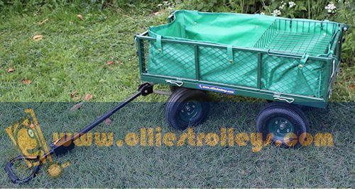 Large Cage Platform Garden Trolley OT1006 – Now Includes Liner & Tool Shelf