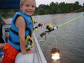 Pontoon Boat Rail Fishing Rod Holder