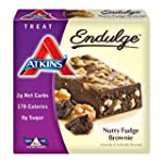 Atkins Endulge Bars Nutty Fudge Brown...