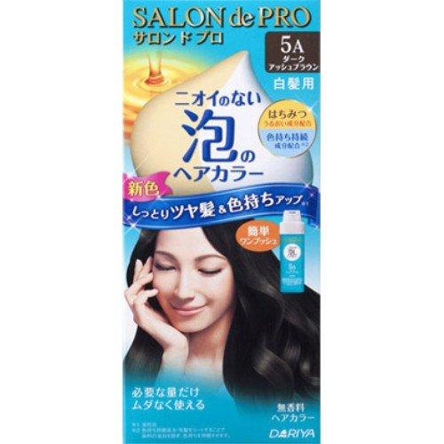 サロンドプロ ワンプッシュ泡のヘアカラー 5A