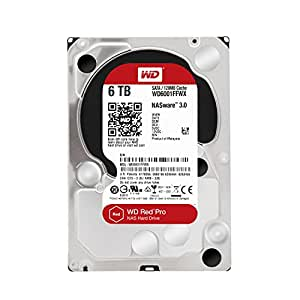 WD WD6001FFWX Red Disque dur interne 6To