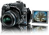 Olympus E-620 SLR-Digitalkamera (12,3 Megapixel, Bildstabilisator, Live View, Art Filter) Kit inkl. 14-42mm Objektiv -