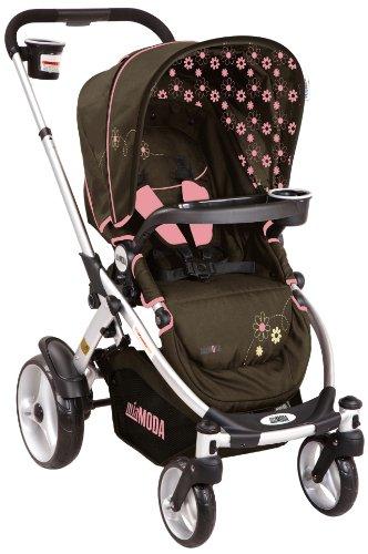 Mia Moda Atmosferra Stroller, Browny Rose - 1