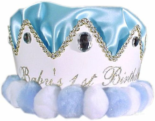 First Birthday Hat - Boys First Birthday Crown
