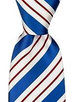 Neckties By Scott Allan - Red / White / Blue Mens Tie