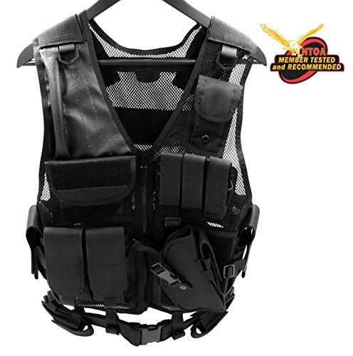 Tactical Vest Military Vest Modular Assault Vest Law Enforcement Vest (Plate Carrier Removable Belt compare prices)