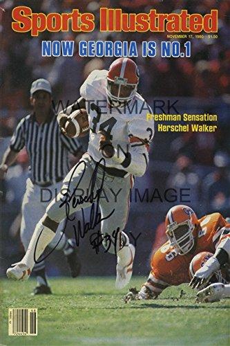 Herschel-Walker-Sports-Illustrated-Poster