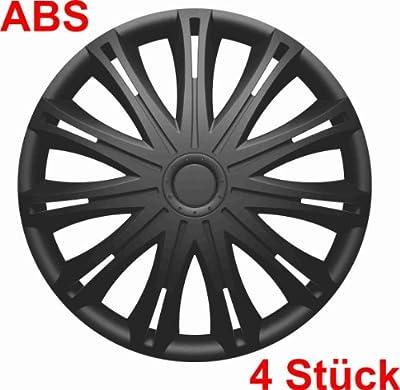 """Universal Radzierblende Radkappe schwarz 14"""" 14 Zoll für das von Ihnen ausgewählte Fahrzeug, siehe Artikeldetails von RAU auf Reifen Onlineshop"""