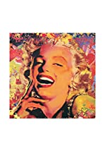 Artopweb Panel Decorativo Ortega Marilyn I 30X30 cm Bordo Nero