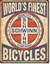 Schwinn Worlds Finest Bicycles Tin Sign