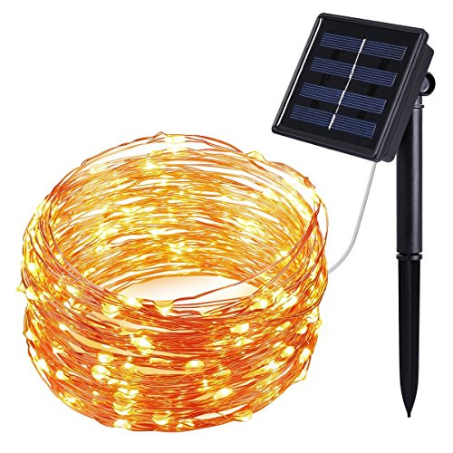 top 5 best solar string lights for sale 2016 product boomsbeat. Black Bedroom Furniture Sets. Home Design Ideas