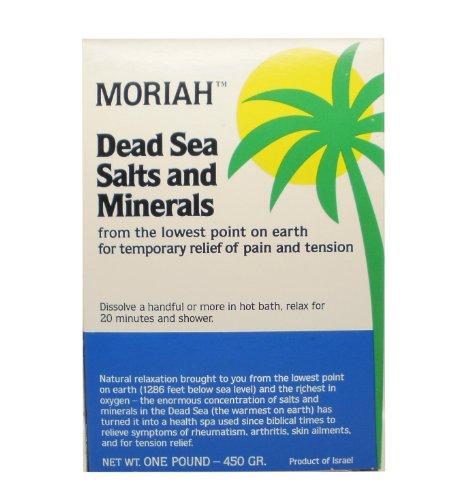 Moraih Dead Sea Salt And Minerals 450gr For Improved Health