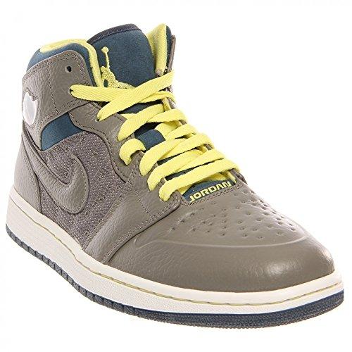 Nike Air Jordan Retro 1 '97 TXT Mens Basketball Shoes 555071-045 Flat Pewter 9 M US