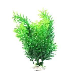 Finta pianta artificiale decorazione acquario casa 30x8cm for Prezzi acquario tartarughe