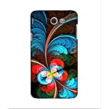 FUSON Designer Back Case Cover For Samsung Galaxy J5(2017) (flowers Feathers Design Designer Art)