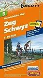 MTB-Karte 03 Zug - Schwyz 1:50.000: Mountainbike Map
