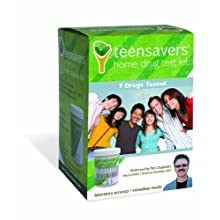 TeenSavers Home Drug Test Kit for 7 Drugs of Abuse - Parental Support Guide, 24/7 Support, and Free Lab Confirmation