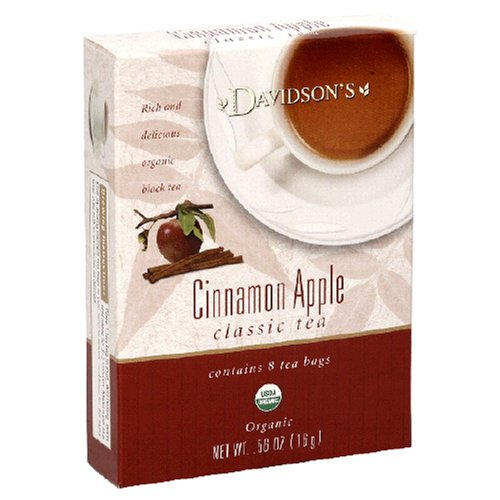 Buy Davidson's Tea Cinnamon Apple, 8-Count Tea Bags (Pack of 12) (Davidson's Tea, Health & Personal Care, Products, Food & Snacks, Beverages, Tea, Black Teas)
