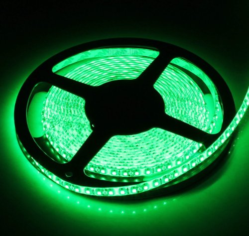 Green Led Strip Light: SUPERNIGHT High Density Green Waterproof Led Light Strip