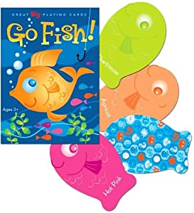 eeBoo Playing Cards - Color Go Fish