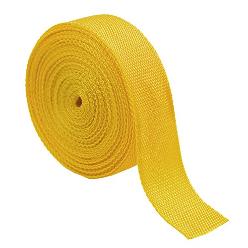 Nylon Heavy Webbing Strap, Ning store Straps Webbing for Home Yard Warehouse(34feet) (2 inch yellow) (Belt Strapping compare prices)