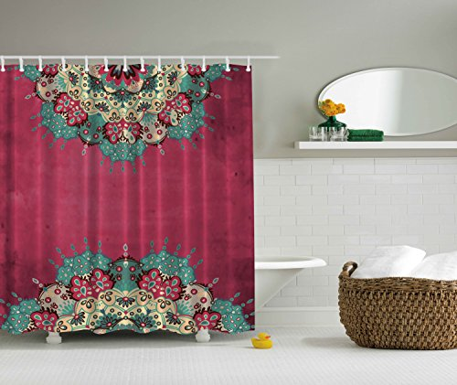 Bohemian shower curtains 2
