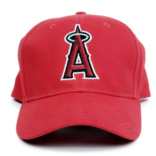 Mlb Los Angeles Angels Led Light-Up Logo Adjustable Hat