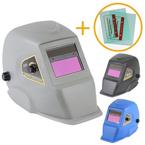 Linxor--Automatik-Schweihelm-DIN-9-bis-13-2-Ersatz-Schutzscheiben-drei-Farben-Normen-EN-379-und-EN-175