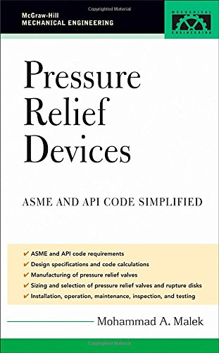 Pressure Relief Devices (McGraw-Hill Mechanical Engineering)