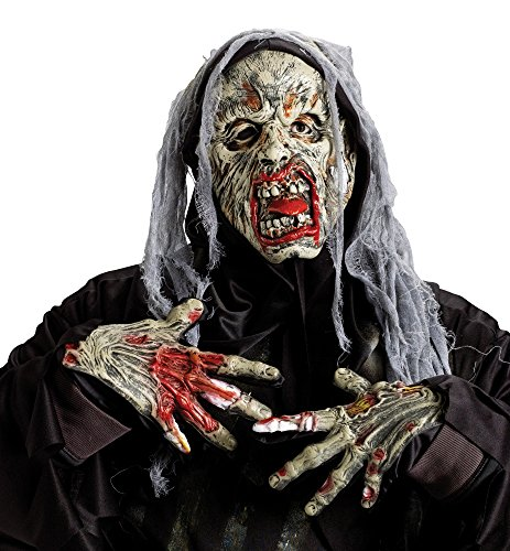 Cryptic Creatures Zombie Adult Costume Mask