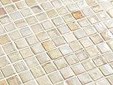 (アーバンイリジウム) アーバンイエロー(15mm角 黄色 ガラスモザイクタイルシート)小口出荷【1シート】