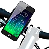 Koomus BikeGo 2 Bike Mount Holder Cradle for iPhone 6 6+ 5 5S 5C 4 4S iPod Touch Galaxy S5 S4 S3 Note 2 Note 3 LG G3 HTC One M8 Nokia Lumia 1020 Google Nexus 5 Sony Xperia Z2 GPS