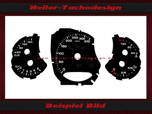 Tachoscheibe Porsche 911 991 Carrera S PDK Bj.2011 Mph zu Kmh