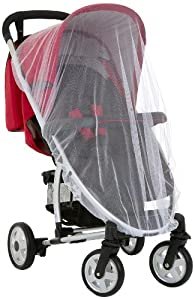 Hauck Protect Me - Mosquitera para cochecito y silla de coche grupo 0+ de Hauck