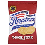 Roysters Bubbled Chips T-Bone Steak Flavour 28 x 28gram