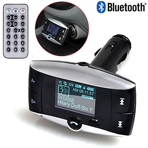 Dealstock Wireless Bluetooth FM Transmitter Modulator Car Kit to play MP3 from Phones Player SD USB LCD with Remote (Whole House Modulator compare prices)